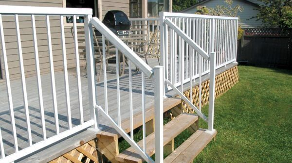 Narrow-Stair-White-Picket-Railing