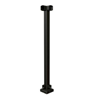 RailBlazers Matte Black Corner Post 91021