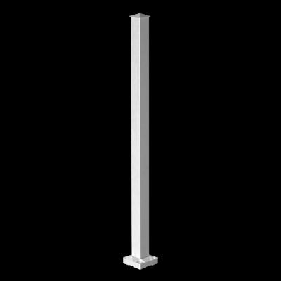 RailBlazers-White-Stair-Post-Gloss-90050