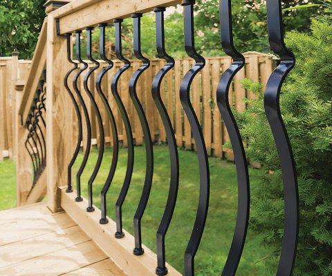 Veranda Deck Rail Kit Baroque Balusters 819913