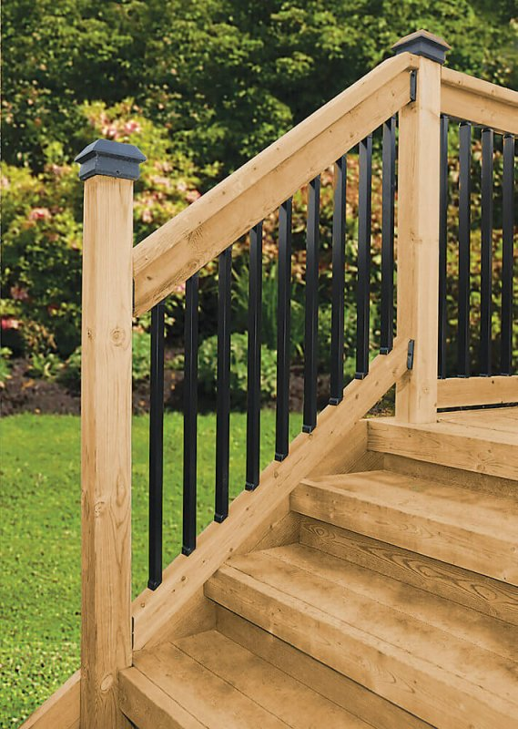 Deck Stair Railing Kits